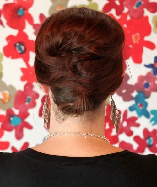39 voluminous french twist hairstyle