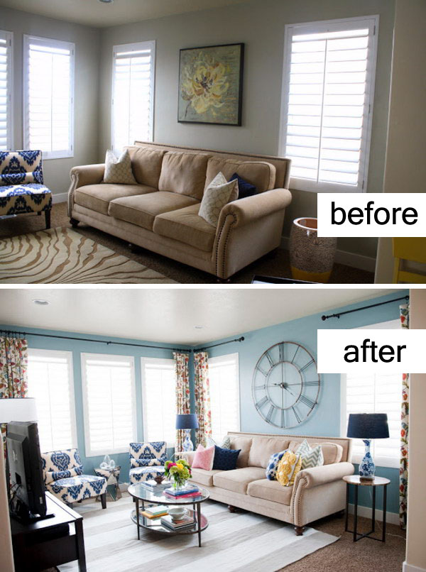 17 Awesome Before And After Living Room Makeovers Page 4