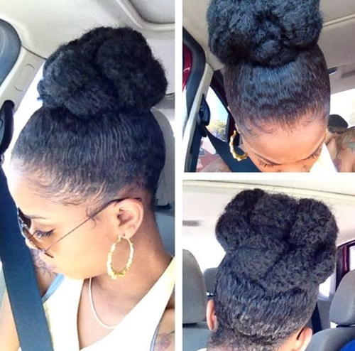 40 Updo Hairstyles for Black Women Ranging From Elegant to ...