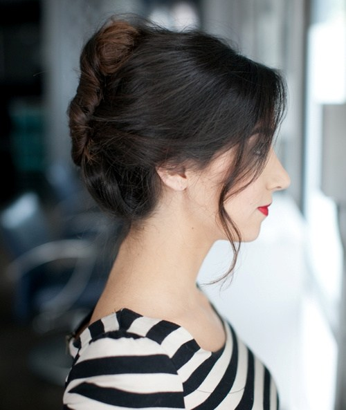40 simple and quick french twist updo