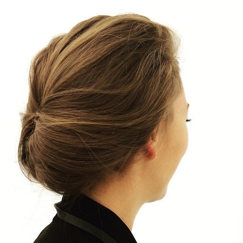 6 casual updo for work and school