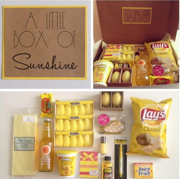 7 A Little Box of Sunshine