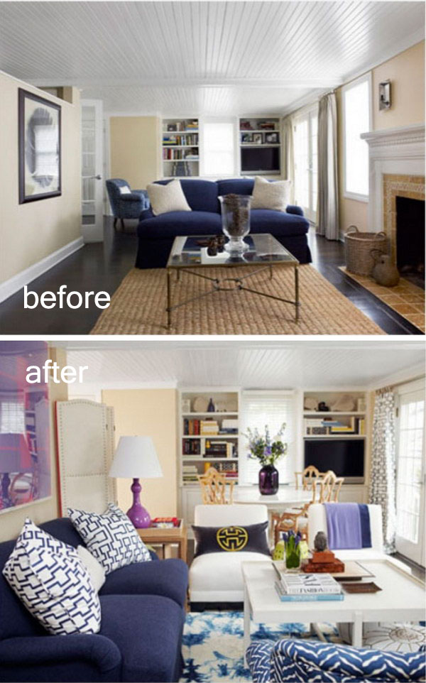 17 Awesome Before And After Living Room Makeovers Page 7 Foliver Blog