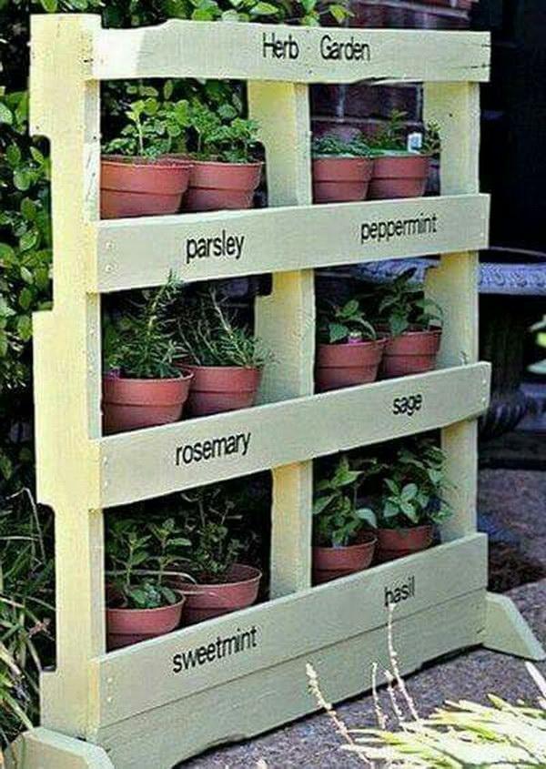 8 DIY Pallet Vertical Garden Tutorial