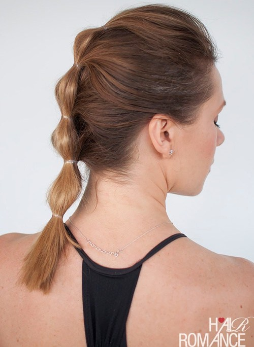 """8-bubble-ponytail-""""braided""""-updo"""