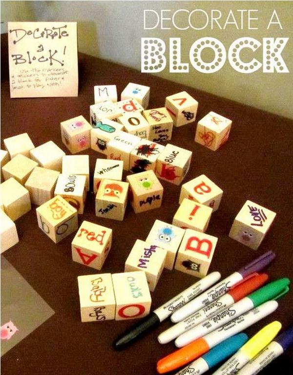 9 Block Sign In Book