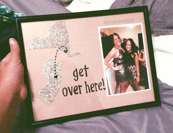 9 DIY Long Distance BFF Gift