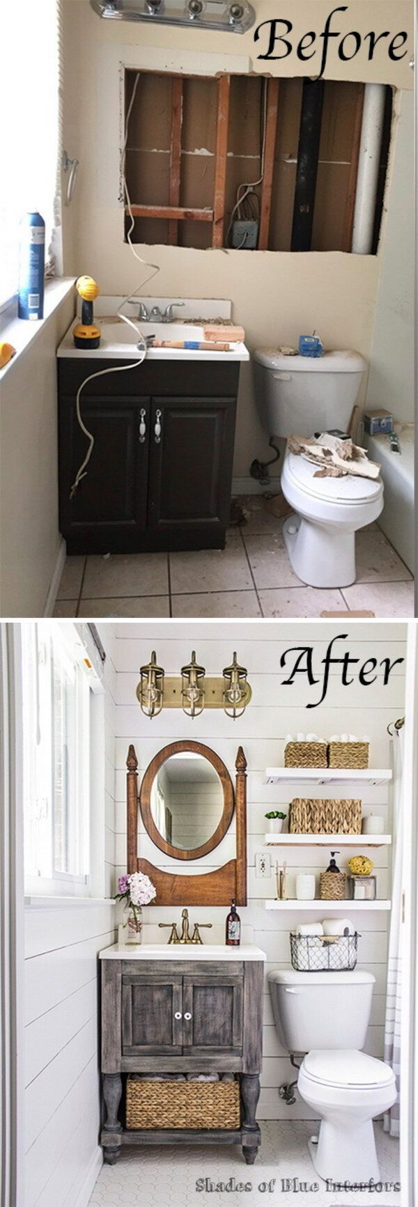 1 Before and After Master Bathroom Makeover