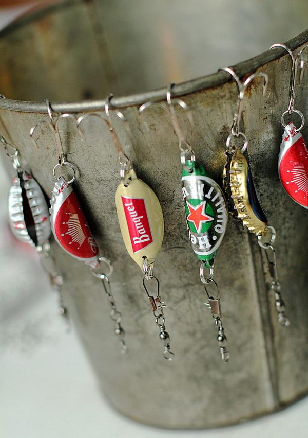 1 Bottle Cap Fishing Lures for Men