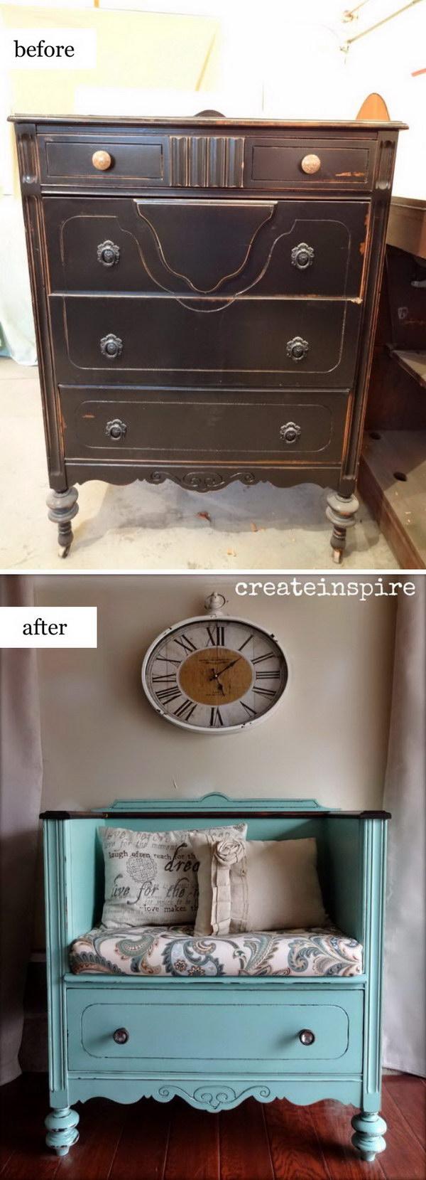 1 DIY Drawer Shelves