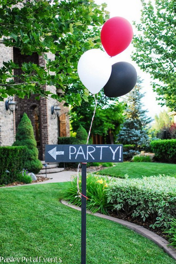 1 Graduration Party Sign