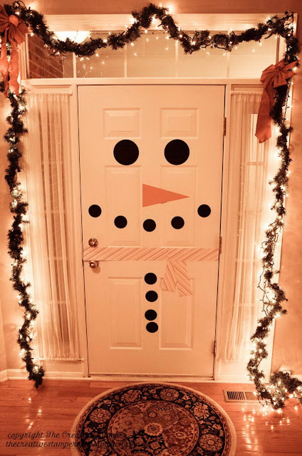 1 Snowman Door Decoration