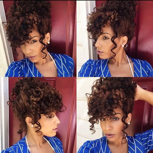 1 curly updo with bangs