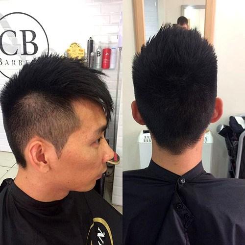 10 Asian men undercut hairstyle