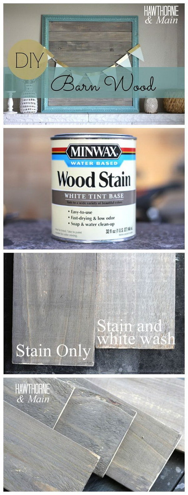 10 DIY Barn Wood Picture Frame