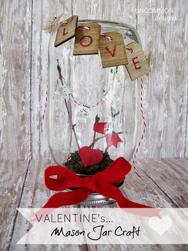 10 Mason Love Jar Valentine鈥橲 Day Setting