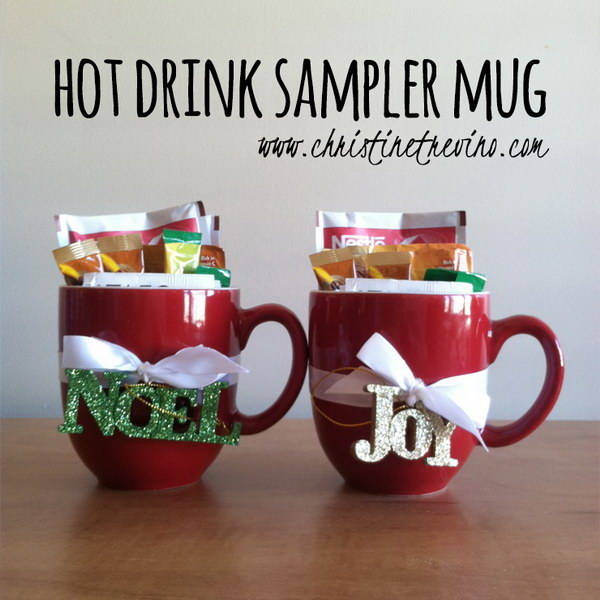11 Hot Drink Sampler Mug