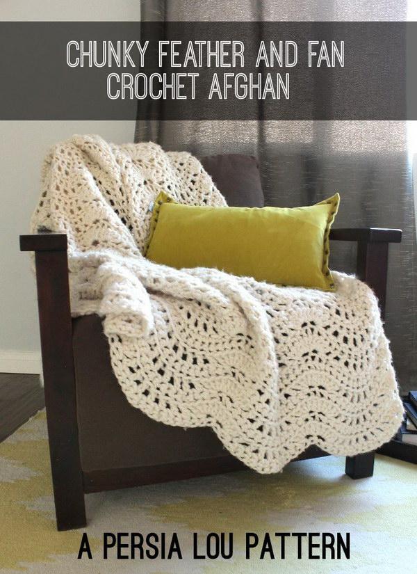 11 Pretty Crocheted Afghan Free Pattern