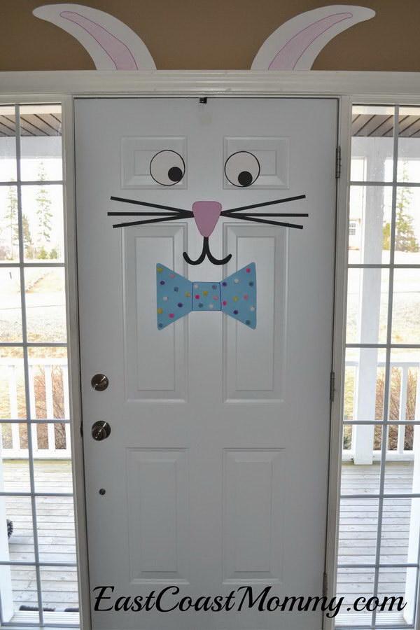 12 Easter Bunny Door Decoration