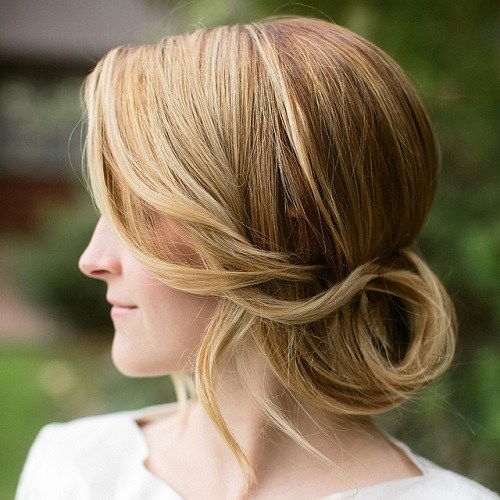 12 low updo for wedding or prom