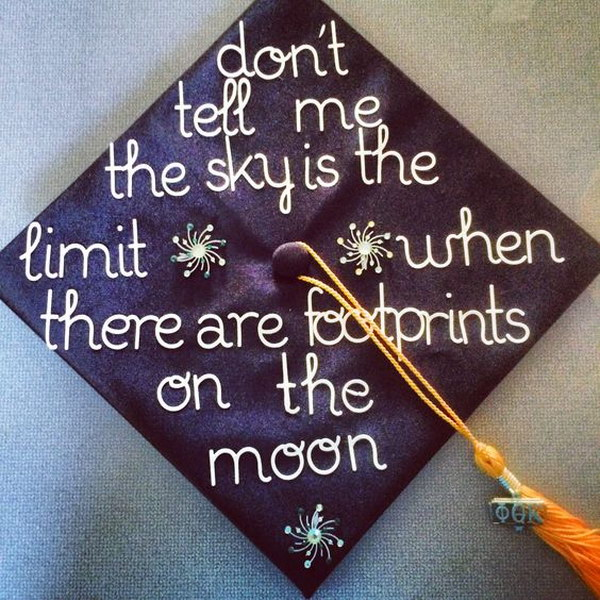 13 Inspirational Quote For Your Graduation Cap