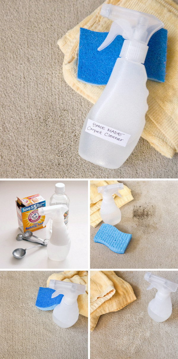 13 Powerful Homemade Carpet Cleaner