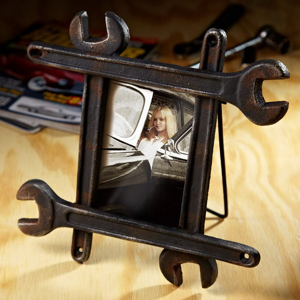 13 Wrench Picture Frame