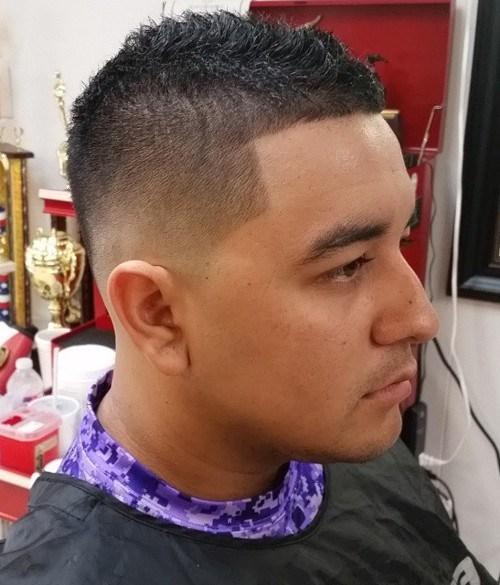 Short Mohawk Taper Fade - Best Short Hair Styles