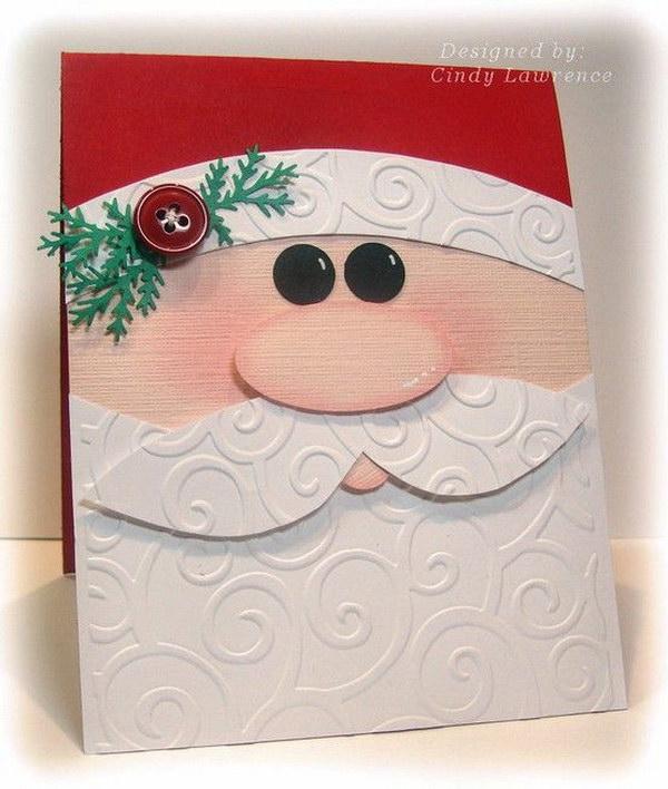 14 Santa Christmas Card