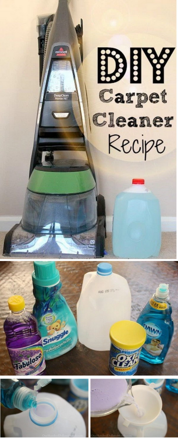 18 homemade carpet cleaning solutions and tips – page 14 – foliver blog