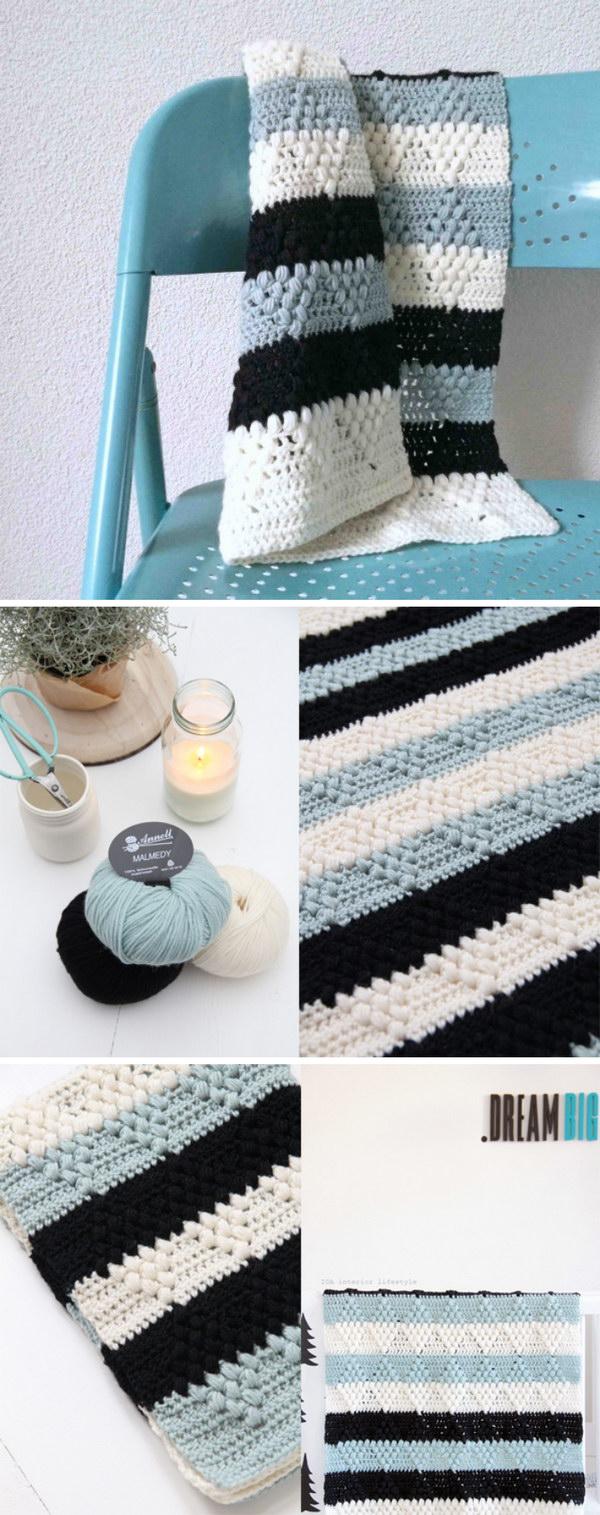 15 Crochet Pattern Diamanti Blanket