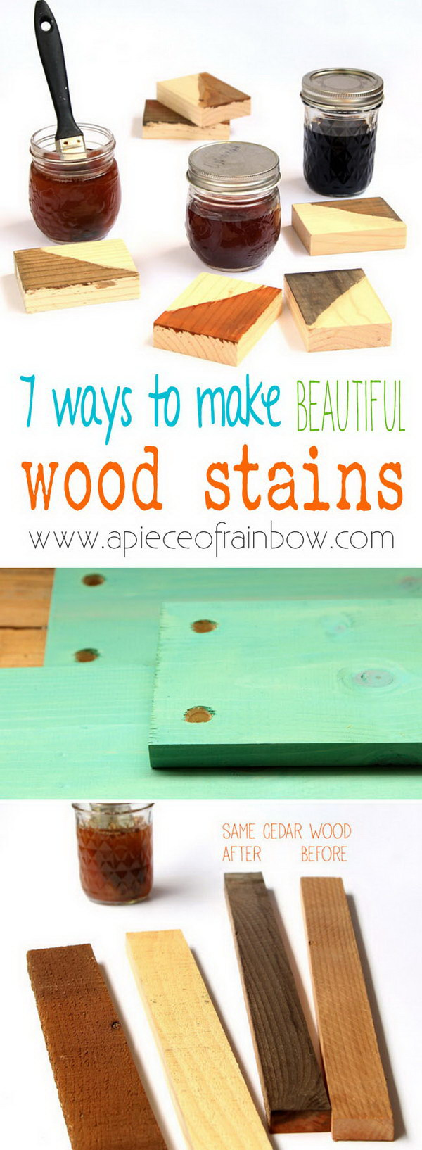 15 Homemade Natural & Effective Wood Stains