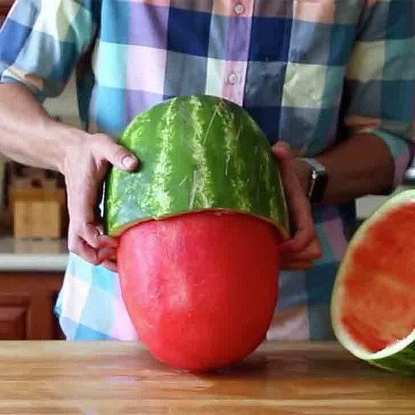 15 Insane Watermelon Skinning Trick