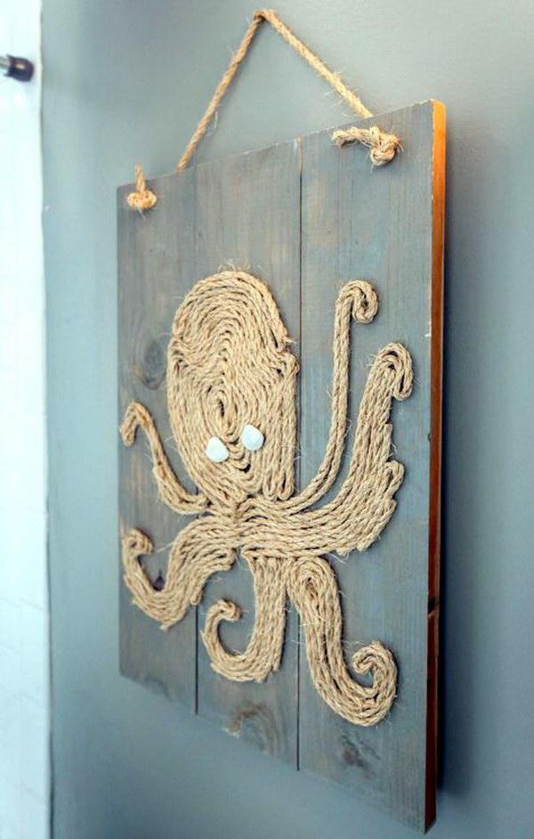 16 DIY Rope Octopus