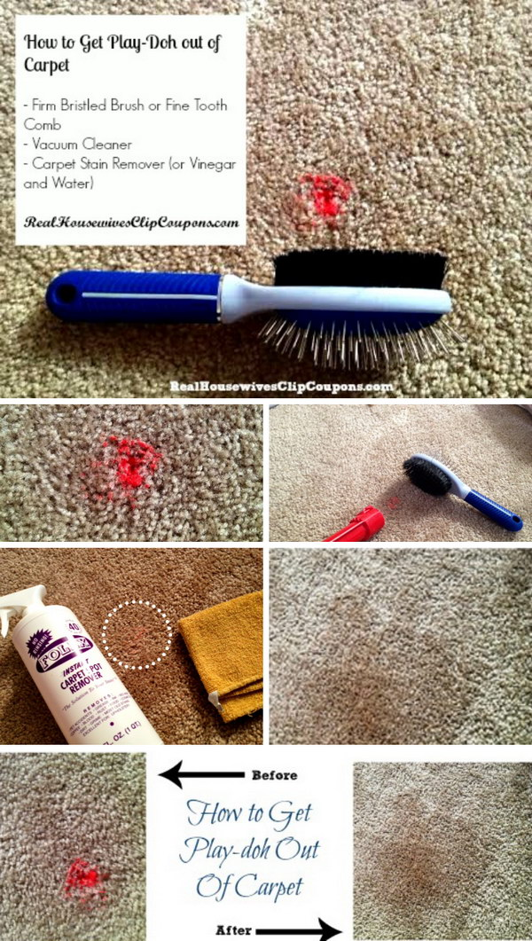 16 How To Get Play-doh Out of Carpet