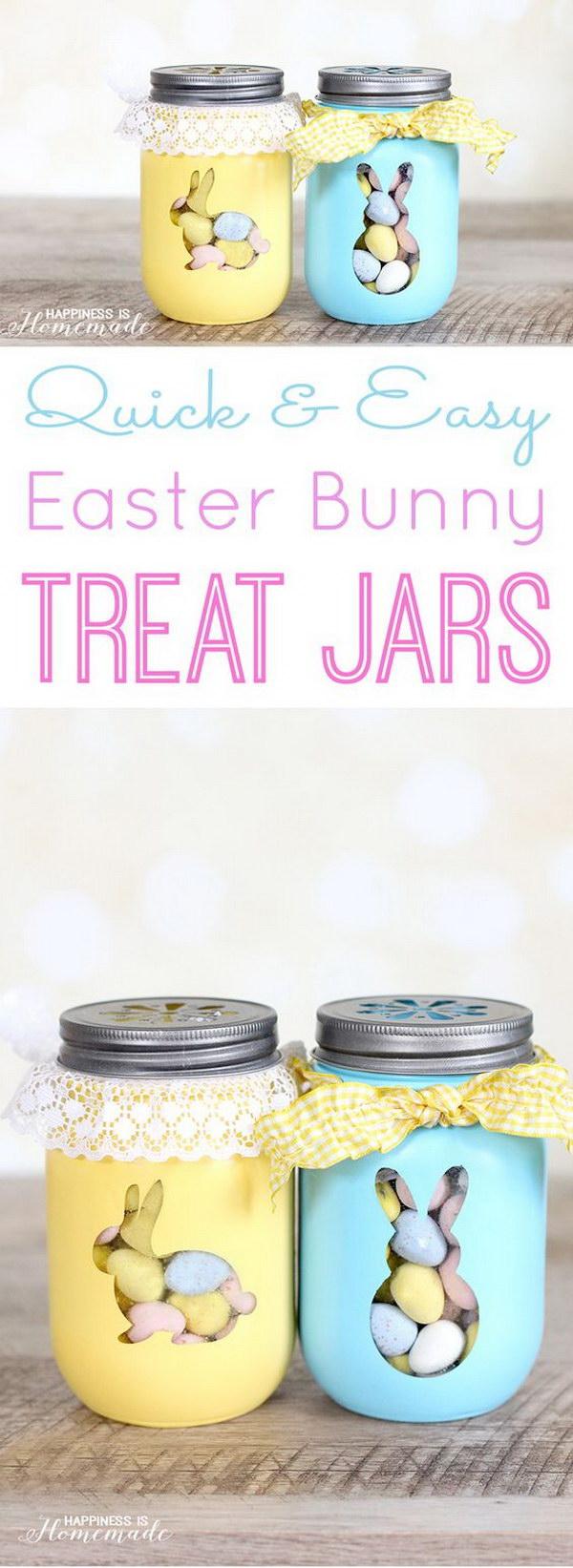 18 Easter Bunny Treat Jars