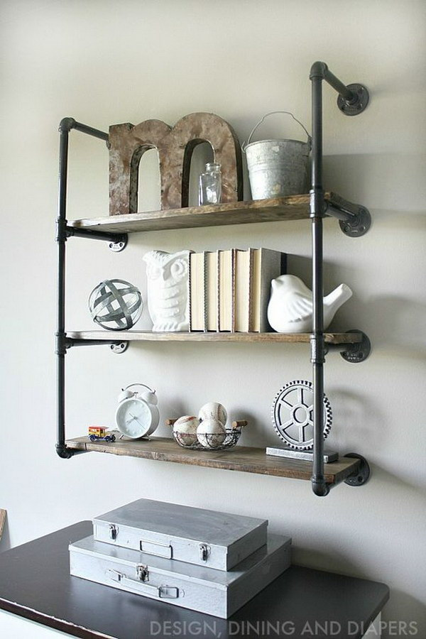 18 Industrial Piping Shelves