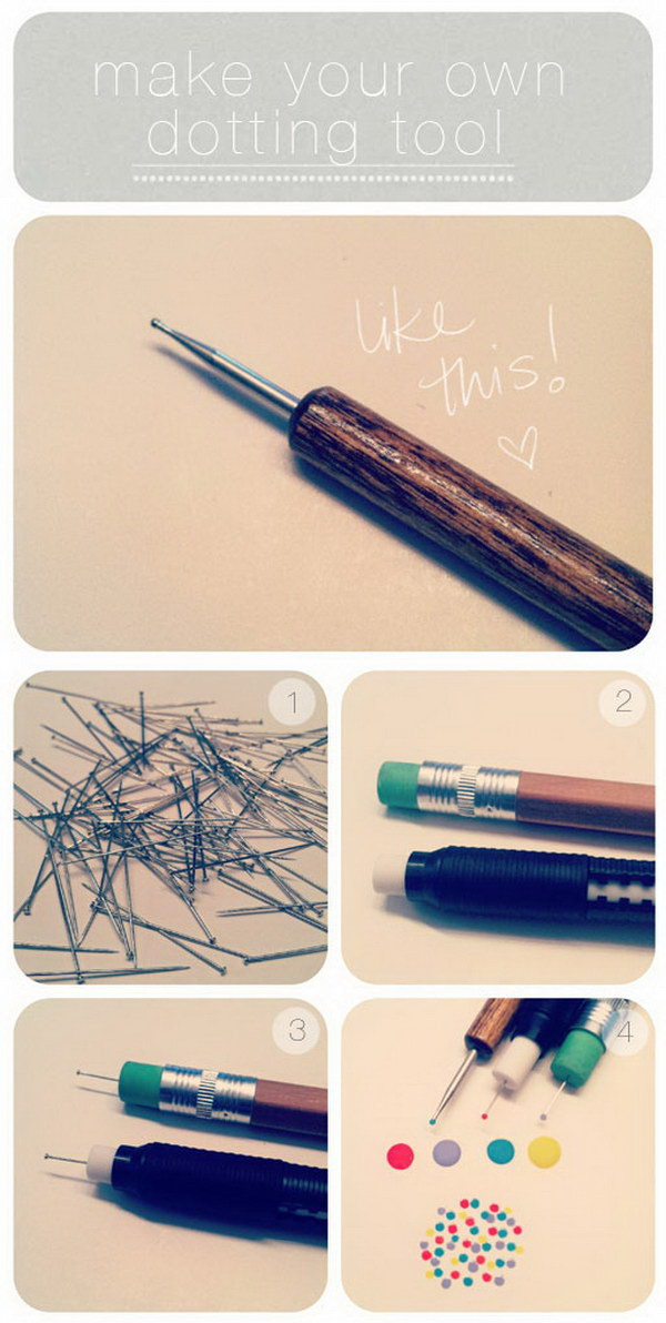18 Make Your Own Dotting Tool