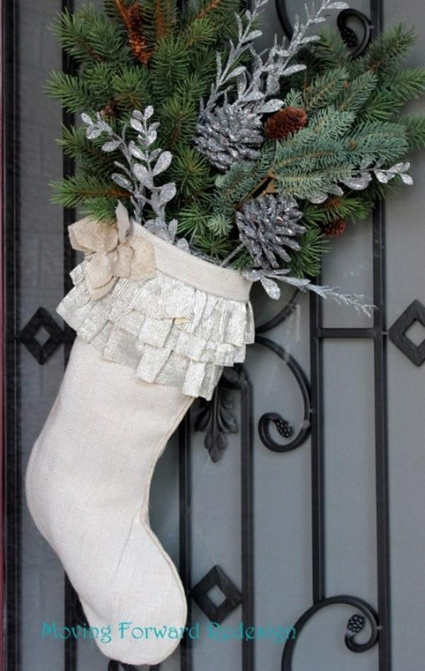 19 Christmas Door Stockings
