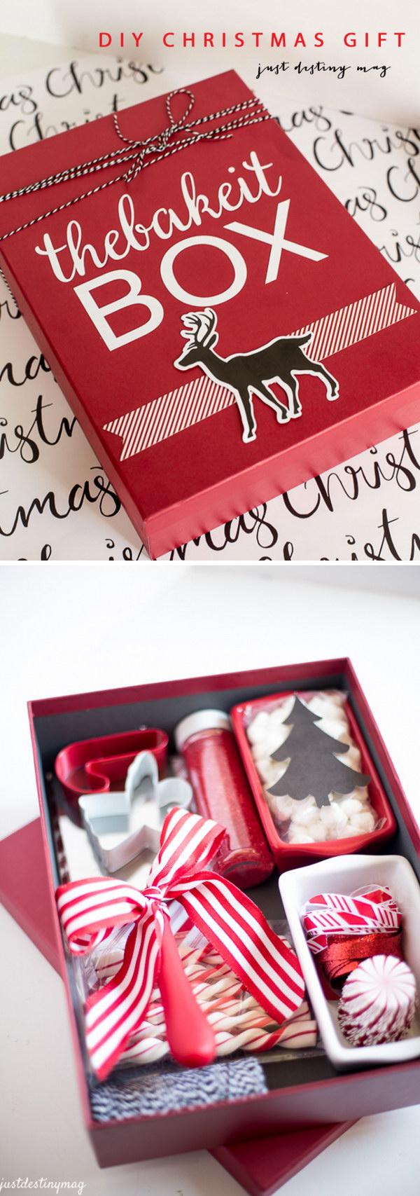 19 DIY Christmas Gift Box