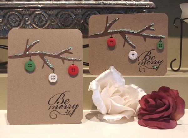 28 Diy Christmas Cards Ideas Tutorials Page 19 Foliver Blog