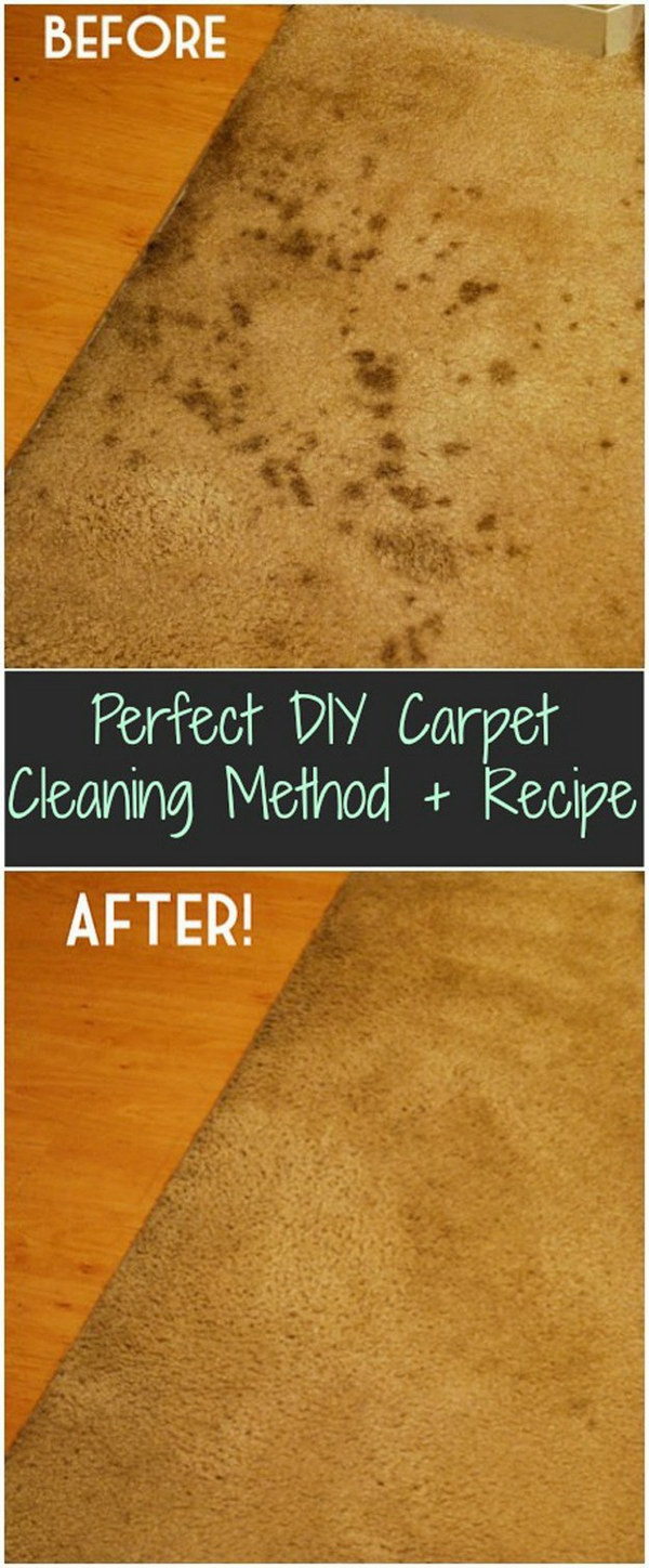 2 DIY Carpet Cleaning Method and Recipe