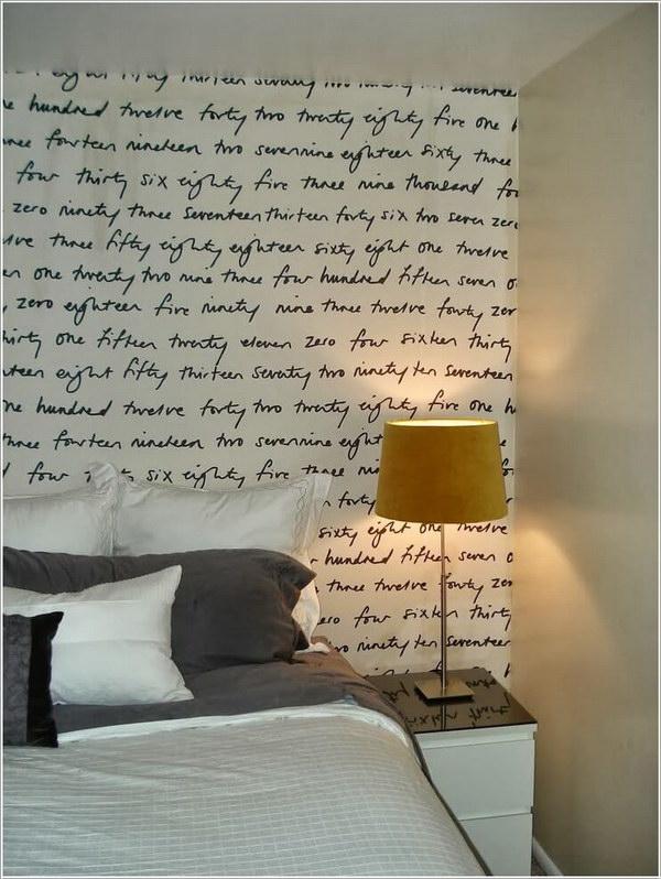 20 Fun Printed Fabric Headboard Wall Design