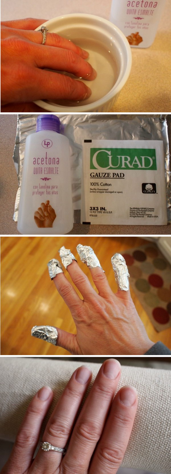 20 How You Remove a Gel Manicure At Home