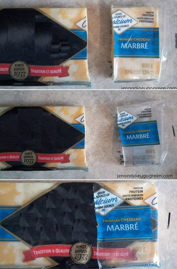 20 Reuse Cheese Wrappers for Storage