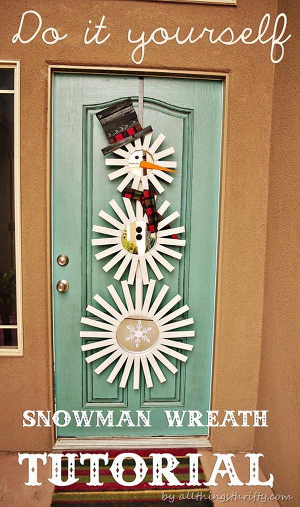 21 Frosty-Inspired Door Decor