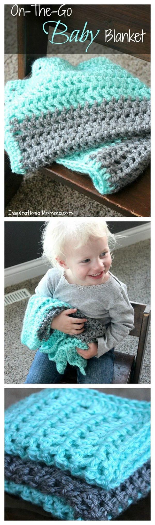 21 On-The-Go Crochet Baby Blanket