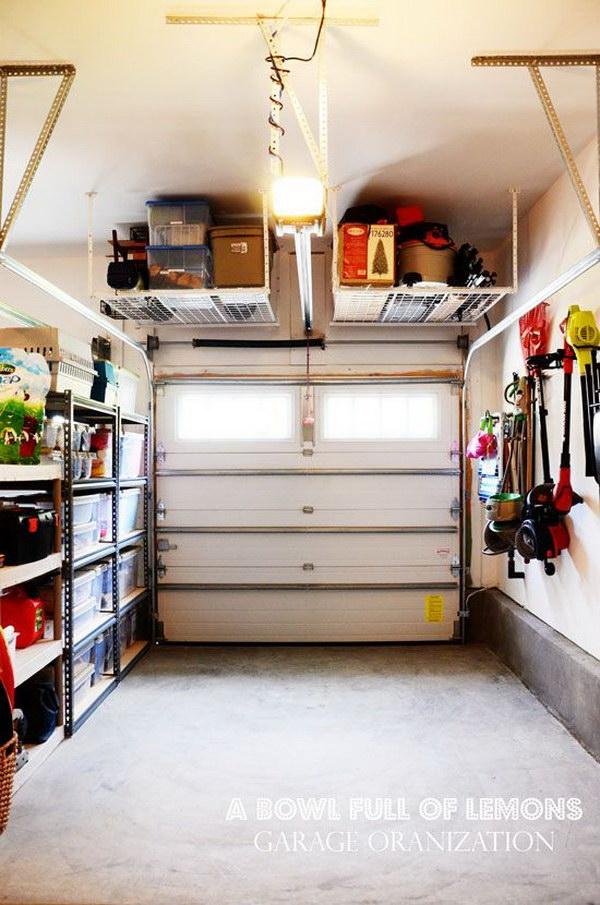 26 clever garage storage