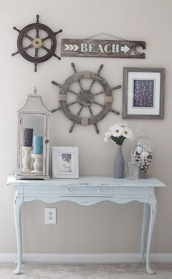 22 DIY Rustic Look Beach House Decor
