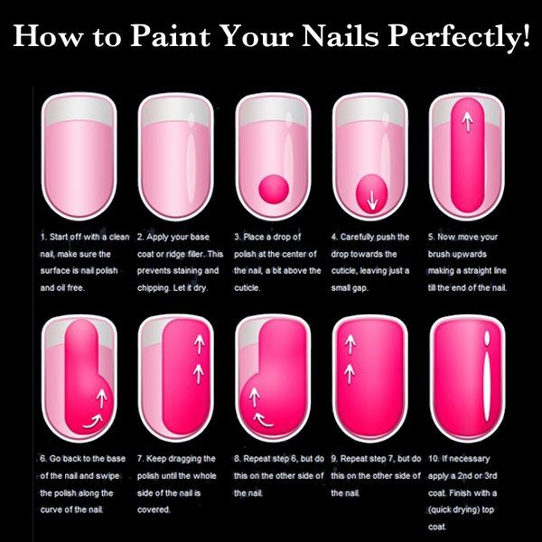 22 The Guide For Applying Nail Polish Perfectly
